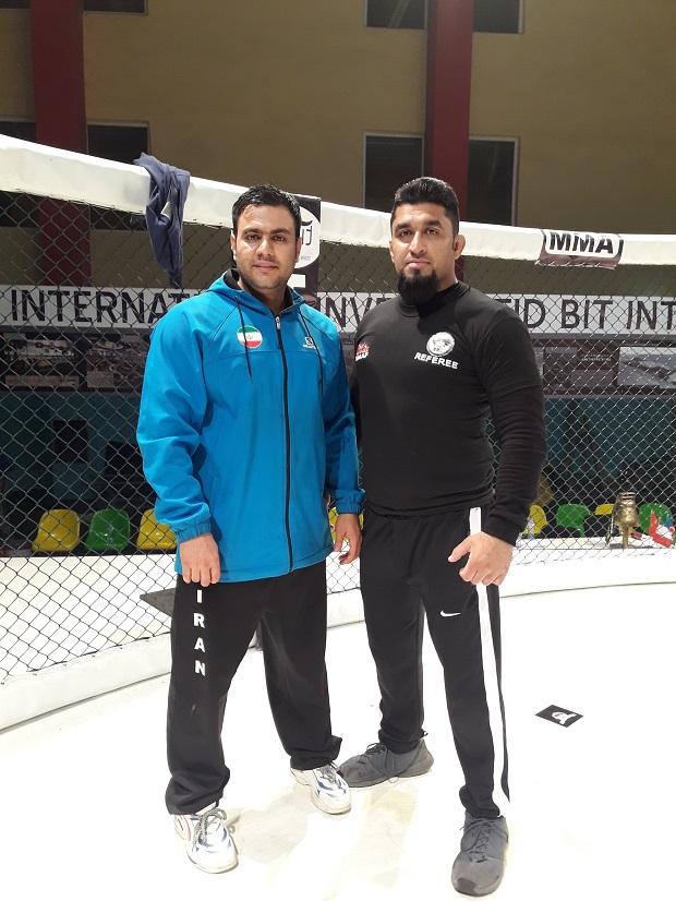 سید امیرحسین شریفی حسینی و رامین جهاندار